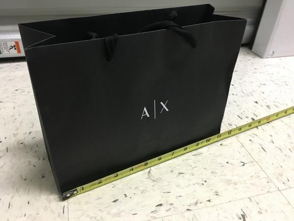 Armani Exchange shopping bag 3d0441c7fff94